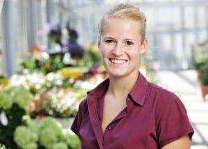 Blumen Keusch Portrait Franziska Forrer